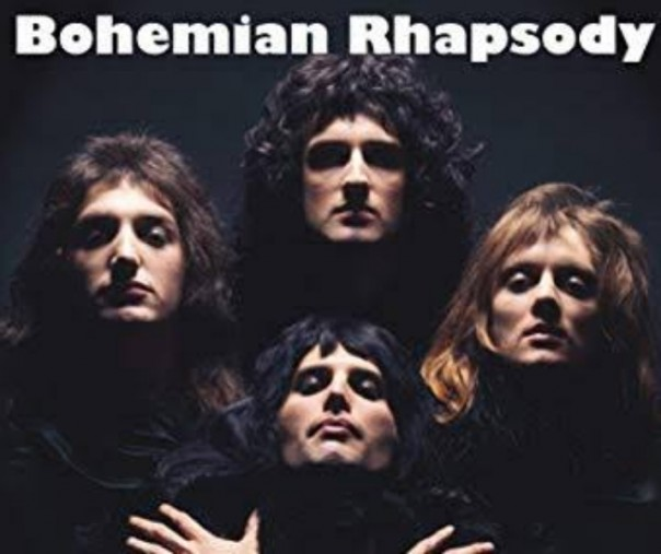 Sampul Album Bohemian Rhapsody milik grup band Queen.  Foto: Amazon.uk