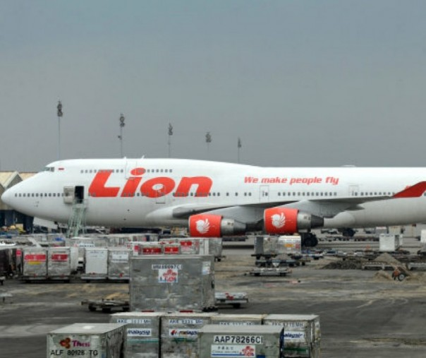 Pesawat Lion Air Boeing 747-400. Foto: AFP.