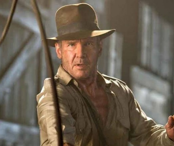 Indiana Jones yang dibintangi Harrison Ford (Foto: Istimewa/internet)