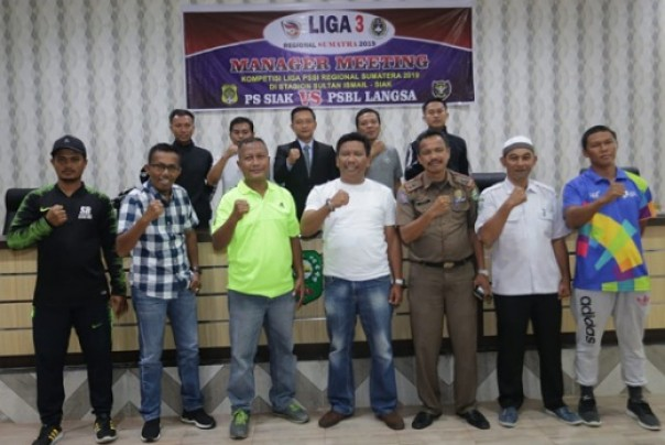 Management Meeting Liga 3 Siak
