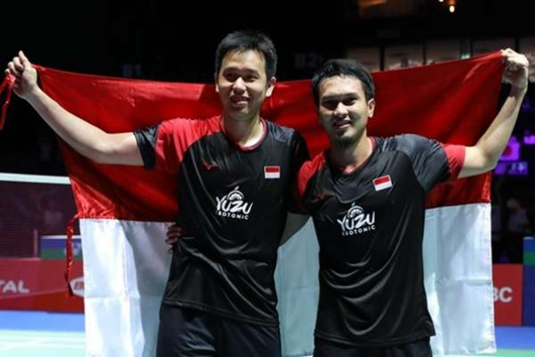 Hendra dan Ahsan juara BWF World Tour Finals 2019.